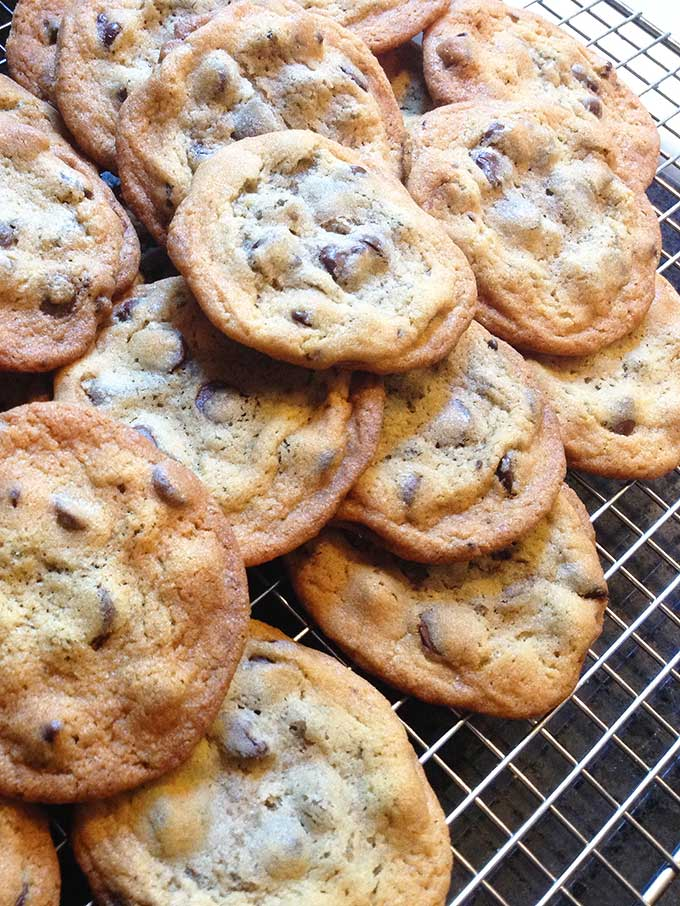 ... gonna need it after baking these King Arthur Chocolate Chip Cookies