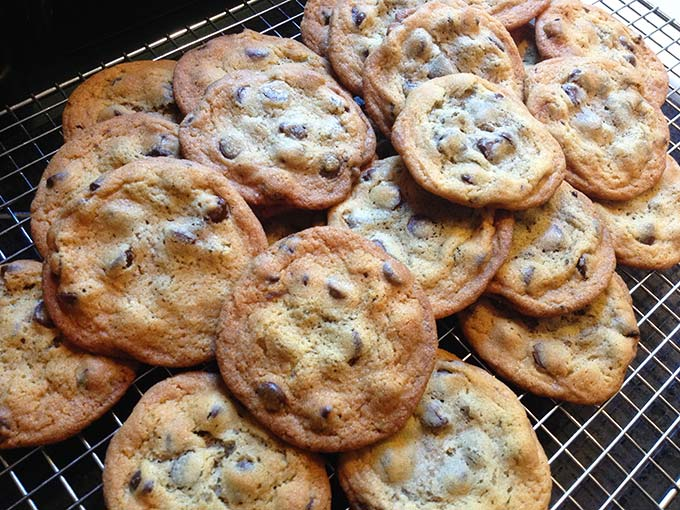 Colorful true story about a secret chocolate chip cookie recipe and its entrepreneur (of sorts) owner.