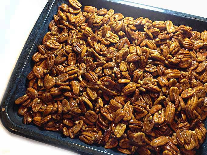 Sugared Pecans: a wonderful treat at Christmas or anytime.