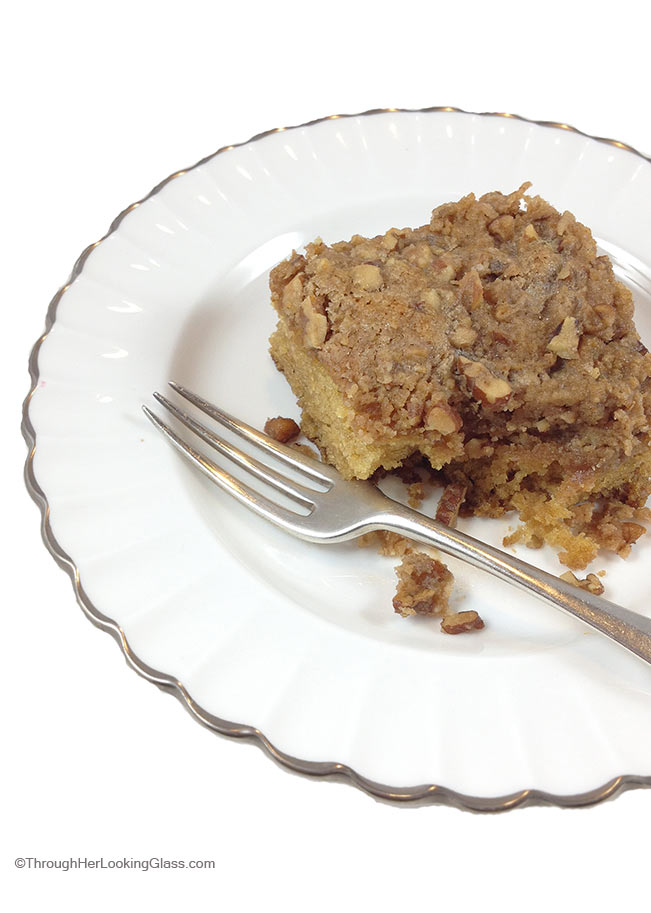 Jewish Coffee Cake: moist and delicious, easy to make. My staple coffee cake, perfect with a cup of coffee.
