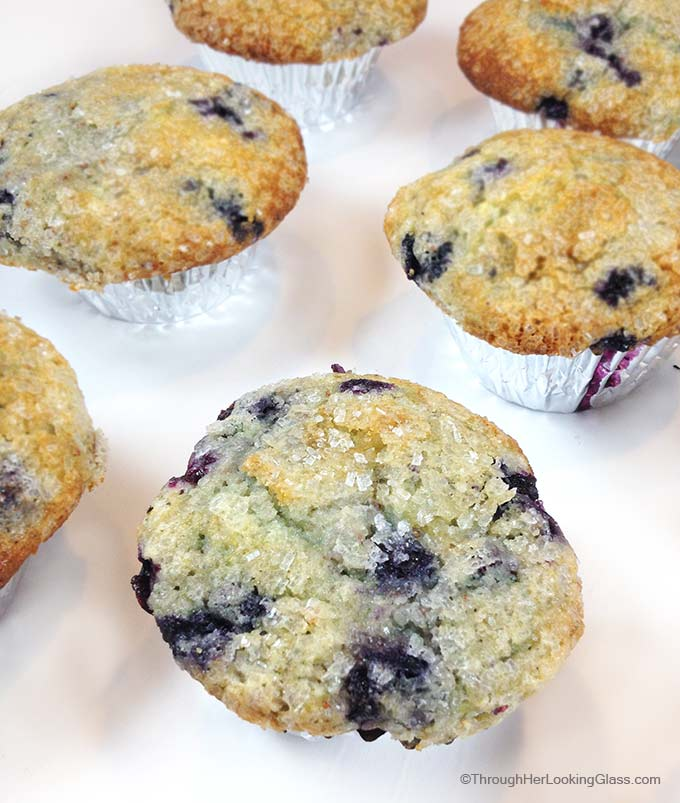 Jordan Marsh Blueberry Muffins served at Jordan Marsh. Legend in the Boston area for decades. Gigantic blueberry muffins with sugary, crunchy muffin tops.