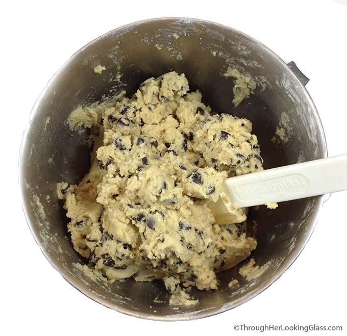 King Arthur Chocolate Chip cookies. Love the crispy outside, chewy ...