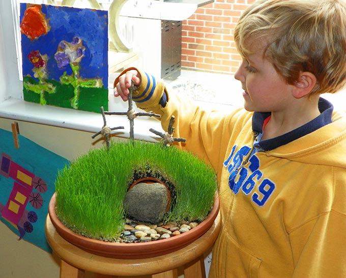 Garden Classroom Decor ~ Diy easter mini garden through her looking glass