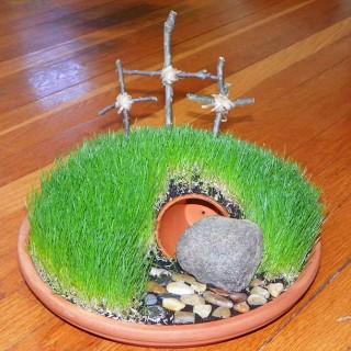 DIY Easter Mini Garden