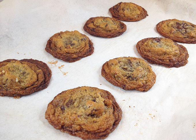 Nantucket Bike Path Cookies: Pack these in your picnic hamper for picnics, potlucks and band concerts this summer. Hint: cognac in this recipe!