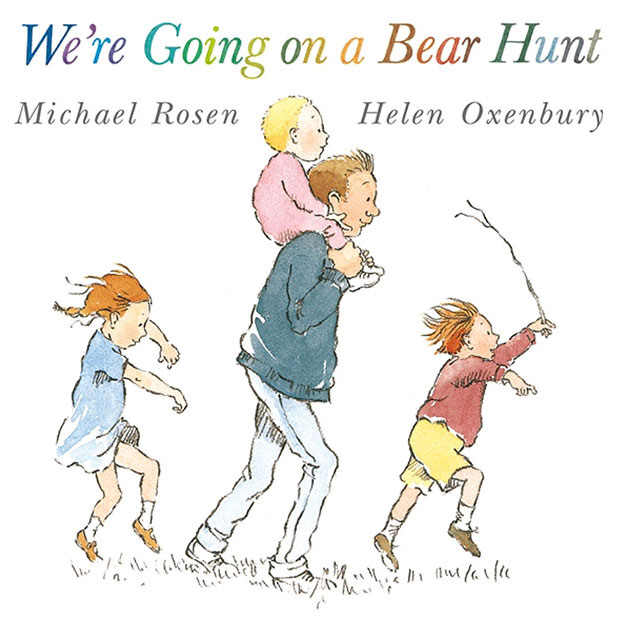 We're Going on a Bear Hunt. Can't see through to the other side yet, but we can choose to go forward one step at a time with joy & courage, by God's grace.