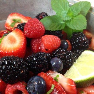 Grand Marnier Berry Salad