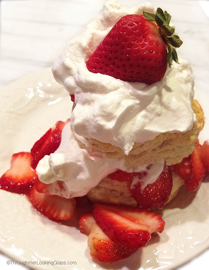 There's nothing quite like Old Fashioned Strawberry Shortcake with ...