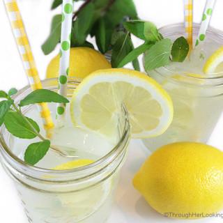 Homemade Lemonade Recipe. Fresh-squeezed lemon juice is best, but I often use bottled lemon juice in a time crunch. Incredibly sweet & refreshing.