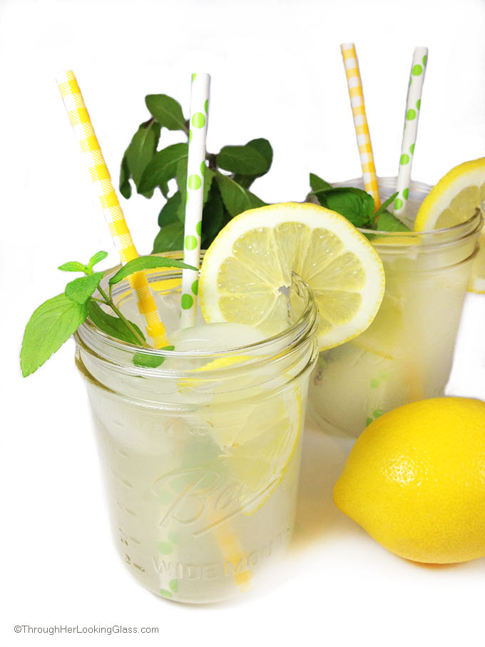 Triple Easy Homemade Lemonade Recipe. Fresh-squeezed lemon juice is best, but I often use bottled lemon juice in a time crunch. Incredibly sweet & refreshing.