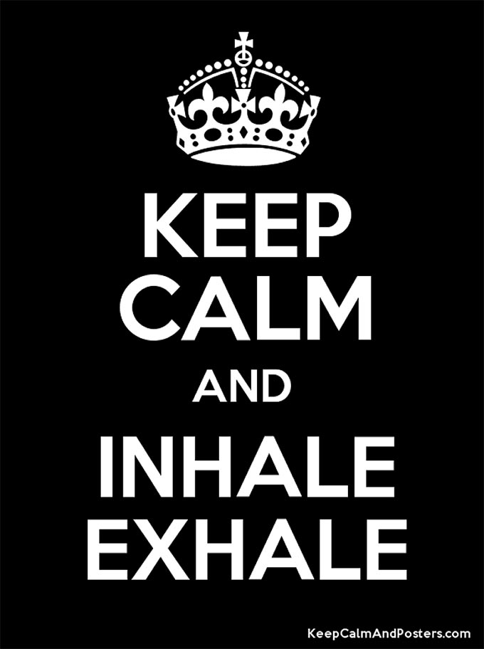 "Inhale Exhale. Rest, relax, rejuvenate. ""Planned anything fun to look forward to this summer?"" Now would be a great time to plan, put it on the calendar."