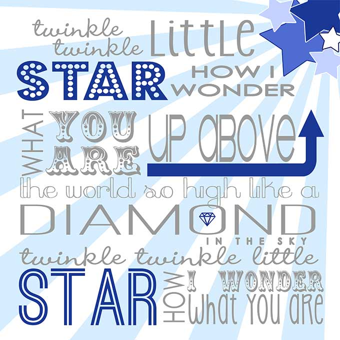 Keep twinkling my littlest star. Hudson's five now, we're still singing Twinkle Twinkle. Hudson loves music, is always delighted to hear his favorite song.
