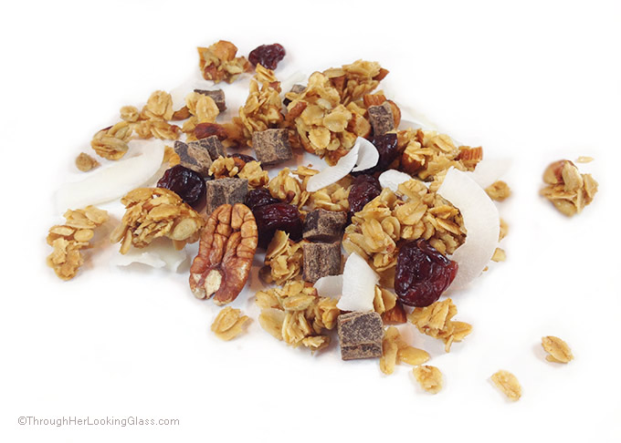 Cherry Pecan Granola. Absolutely scrumptious. Clean-eating. Sunflower ...
