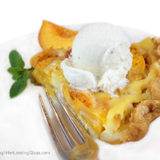 Dreamy Fresh Peach Custard Pie. Fresh peaches and cream combine for an easy, delicious and summery fruit pie.