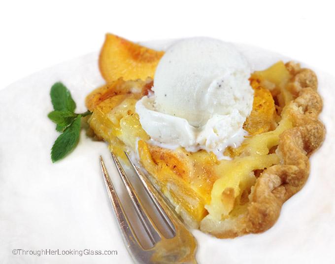 Dreamy Fresh Peach Custard Pie. Fresh peaches and cream combine for an ...