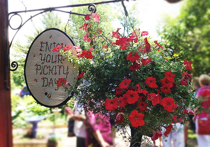 Pickity Place, quaint New England destination/restaurant. Chosen by Elizabeth Orton Jones as the model for illustrations in Little Red Riding Hood in 1948.
