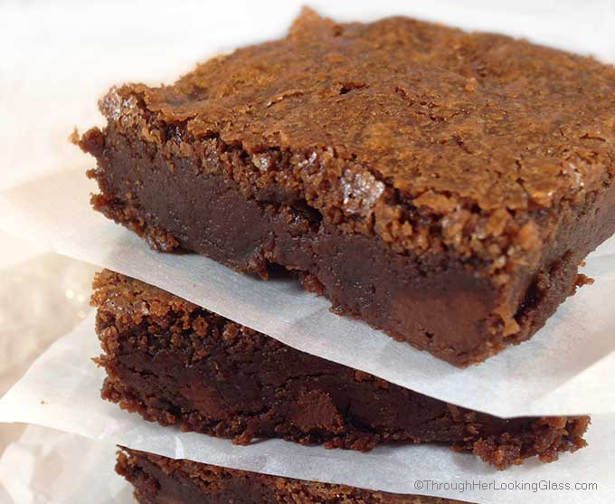 Aunt Pinkie's Famous Fudgy Brownies