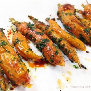 Honey Roasted Dill Carrots