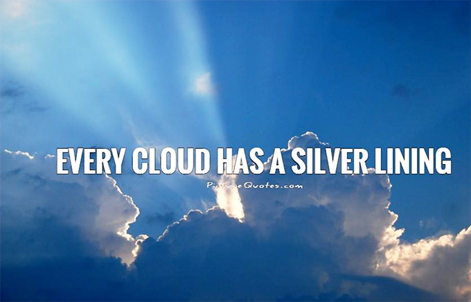 This past week has been an unusual mix of joy and pain. Clouds and Silver Linings. Grateful for the Silver Linings that help carry us through the storms.