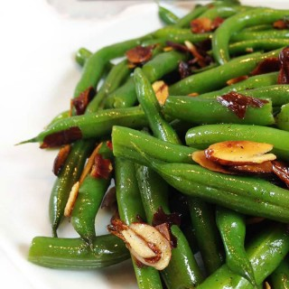Brown Butter Almond Green Beans