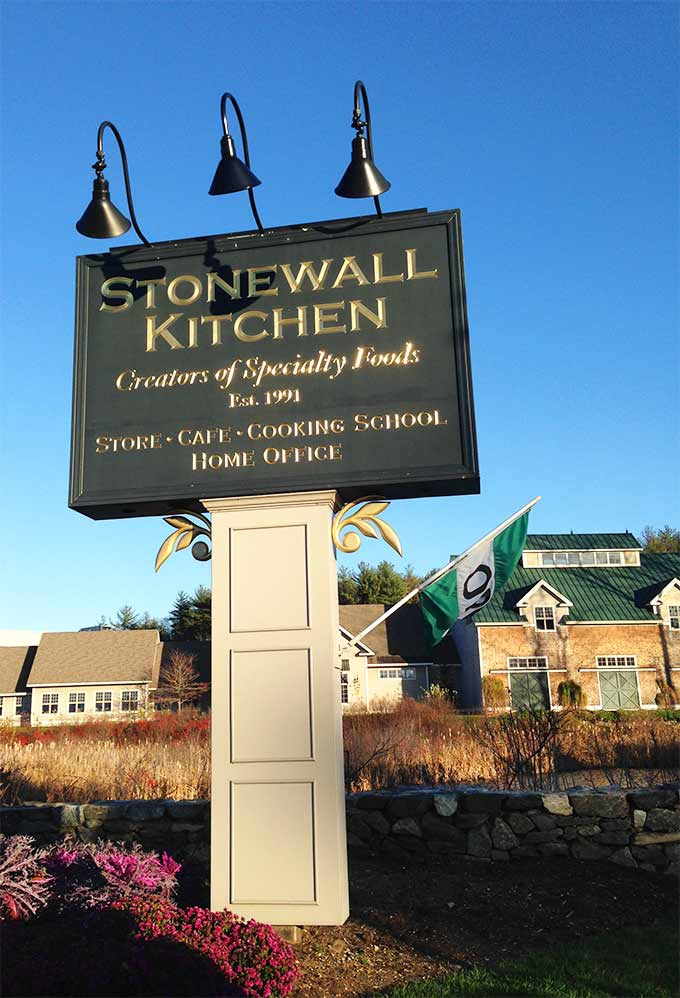 Stonewall Kitchen in York, Maine. A true destination to put on your New England bucket list. Gourmet shopping, eating, and even a top-notch cooking school.