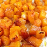 Caramelized Maple Roasted Butternut Squash: yummy side dish that'll have you craving butternut squash morning, noon and night! Deliciously addictive.