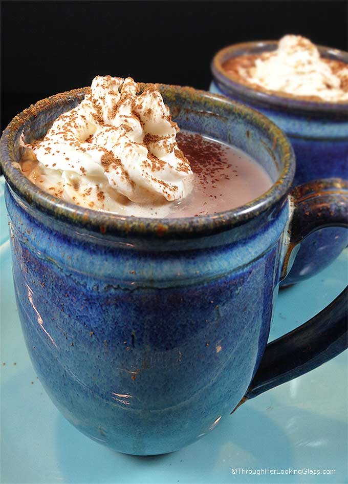 Hershey's DIY Hot Cocoa Mix : this hot cocoa is rich, creamy and chocolaty. And best of all, doesn't use up the milk in the fridge. Quick and easy, with no preservatives, you'll quit buying store bought cocoa mix.