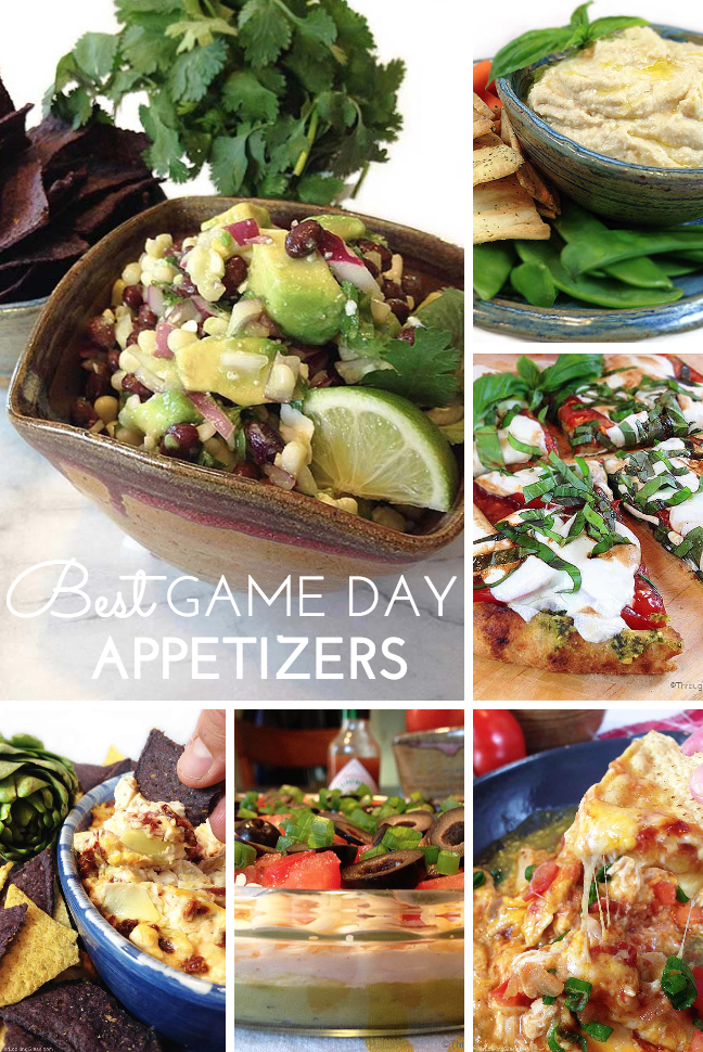 Best Game Day Appetizers. Heat up some wings and cheese sticks for the big game, plus some fabulous fresh appetizers. Best, easiest game day recipes!