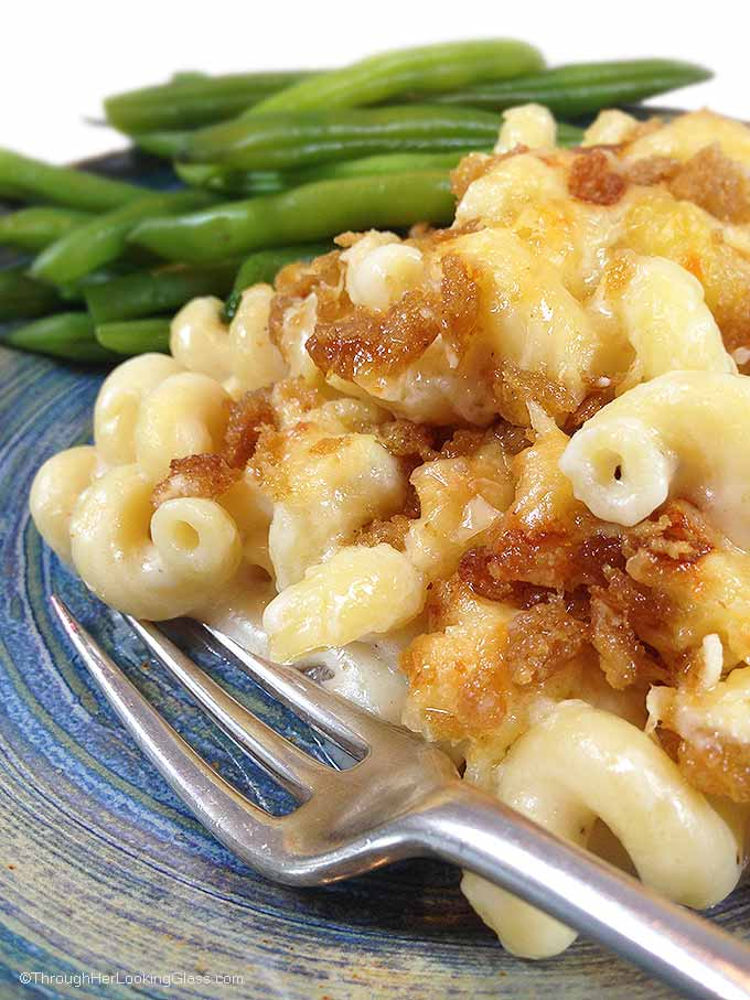 Ultimate Three Cheese Gruyere Mac and Cheese. For all the cheesy mac & cheese lovers. If you love Gruyere, you'll love this ultimate homemade mac & cheese!