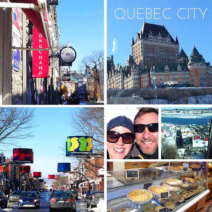 We took a lovely expedition to Old Quebec City last weekend. Such a charming European, French speaking Canadian City. Wanna go? Come hear all about it!