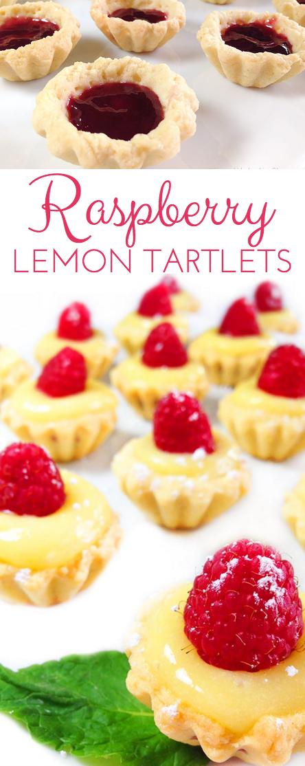 Irresistible Raspberry Lemon Tartlets. Crunchy, light tart shells layered with seedless raspberry jam, lemon curd and fresh raspberries. Need I say more?