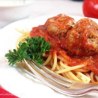 Homemade Italian Meatballs & Sauce