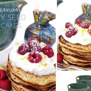 Lemon Poppy Seed Pancakes & Eclectic Mother's Day Gift Ideas