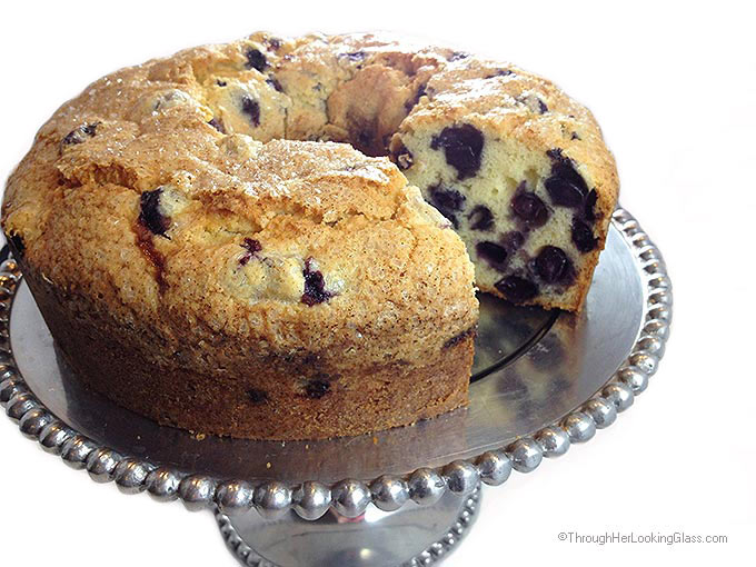Best Maine Blueberry Cake
