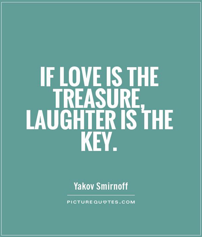 Tell All - If love is the treasure, laughter is the key.