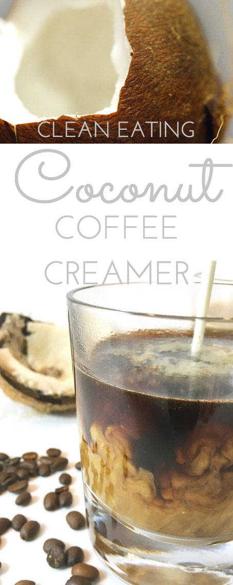 If you like flavored coffee creamer, try this Clean Eating Coconut Coffee Creamer for a little treat. It'll wake up your tastebuds and no add chemicals!