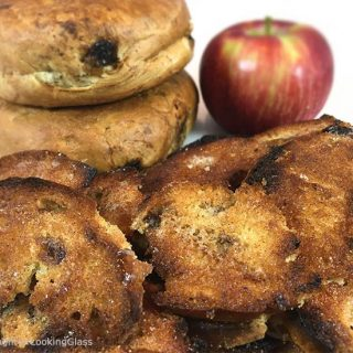 Crispy Cinnamon Raisin Bagel Chips Recipe