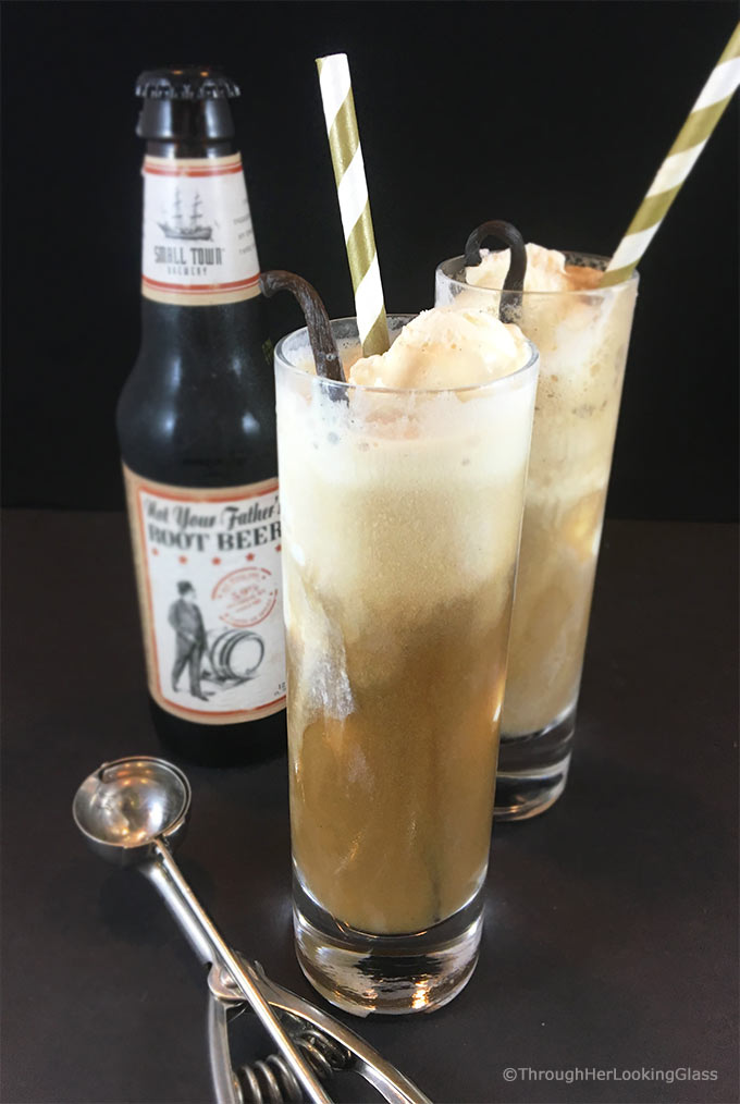 Not Your Father's Root Beer Float Recipe: swoon-worthy adult root beer float, guaranteed to please all the root beer lovers. Is it 5 o'clock yet? (Does it matter?)