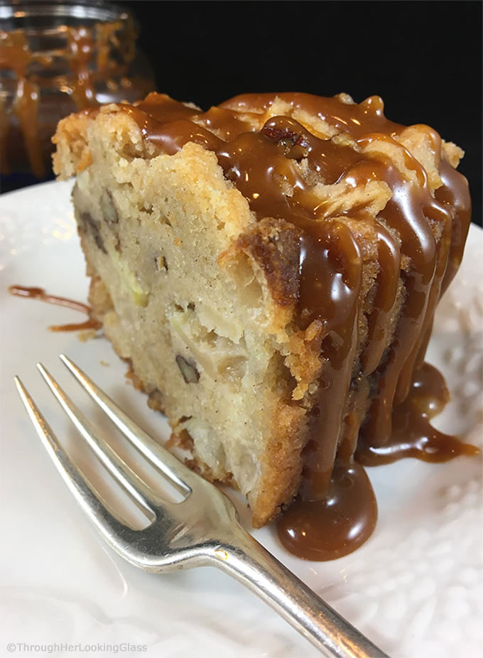 raw apple cake salted caramel apple cake through looking glass 6962