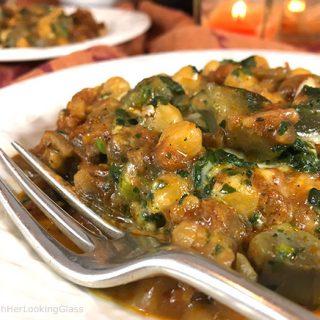 Italian Sausage Bake Veggie Bowl
