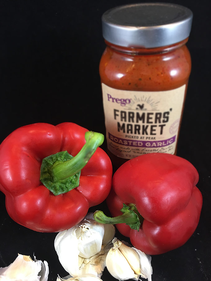 Garlic Chicken Parmesan w/Roasted Red Peppers Skillet: Chicken thighs ...