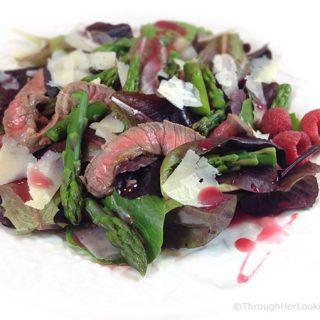 Grilled Steak & Asparagus Salad