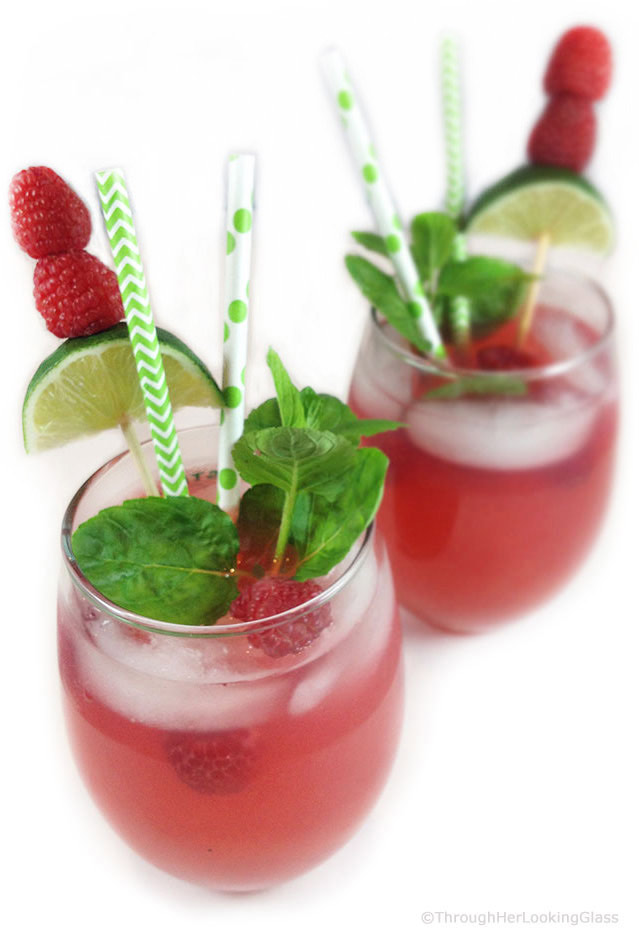 Raspberry Limeade: the perfect fun, summery drink. Cool and refreshing ...