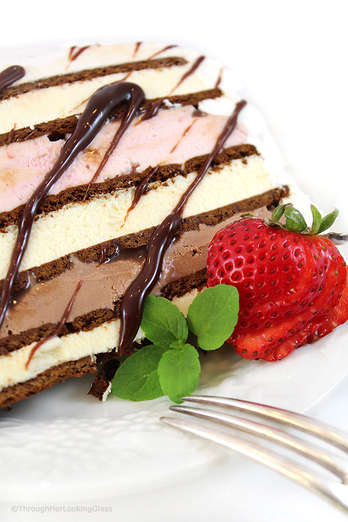 Kraft Strawberry Ice Cream Cake