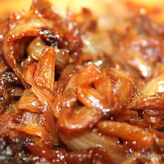Today I'm sharing How to Make Caramelized Onions. They are easily made on the stovetop and take just a few ingredients. Caramelized onions jazz up salads, sandwiches, soups, burgers, pizza, pasta and appetizers. Packed with natural flavor and so delish!