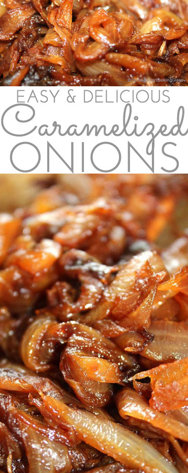 golden brown caramelized onions