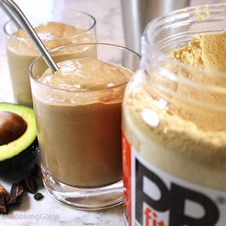 Creamy Chocolate Peanut Butter Smoothie Recipe w/Avocado