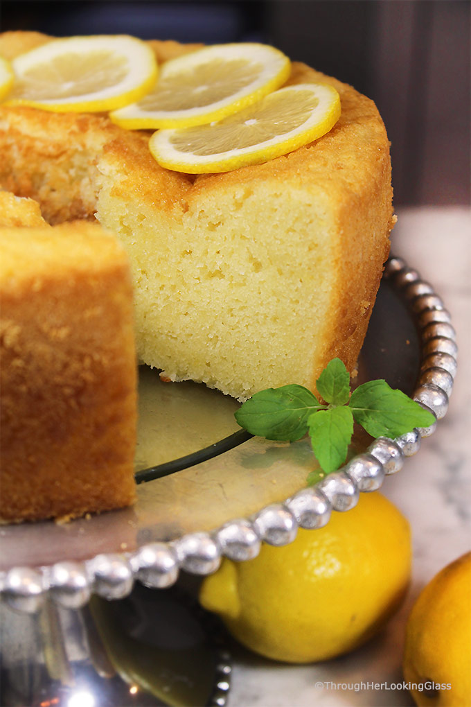 1920 Famous Ritz Carlton Tea Room Lemon Pound Cake Recipe is the one for you! This dense, old-fashioned buttery lemon pound cake was a favorite dessert at the Ritz Carlton in the 1920's and it's still popular today.