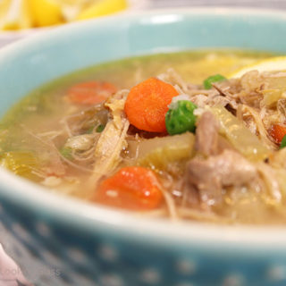 If you've ever tasted a hearty Homemade Turkey Soup, you know it's chock full of fresh flavor and nutrition. The tantalizing aroma of turkey soup simmering the day after a big holiday meal is mouthwatering!