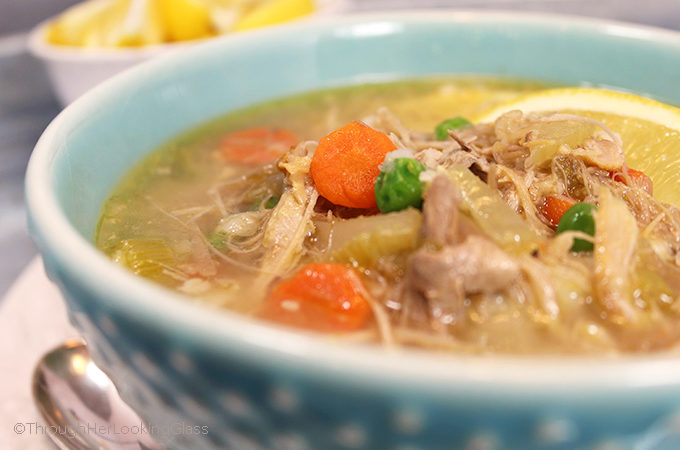 If you've ever tasted a heartyHomemade Turkey Soup, you know it's chock full of fresh flavor and nutrition. The tantalizing aroma of turkey soup simmering the day after a big holiday meal is mouthwatering!